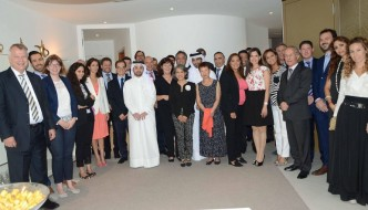April 12th: Reception by H.E. the Swiss Ambassador for the Swiss Business Council LLC(G)