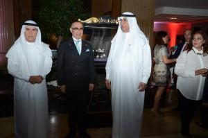 Mr. Ahmed Hassan Bilal, Dr. Fariborz Samadian, Mr. Hussain Ibrahim Al Fardan
