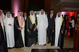 Qatari dignataries and business men, H.E. Swiss Ambassador and President of the SwissBCQ