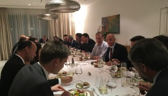 May 30th: CEO's dinner with H.E. the Swiss Ambassador