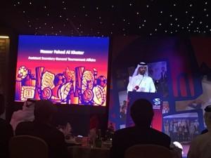 Mr. Nasser Al Khater, Assistant Secretary General, Tournament Operations, SCDL