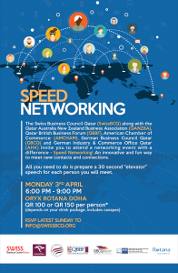 Speed Networking event April 2017